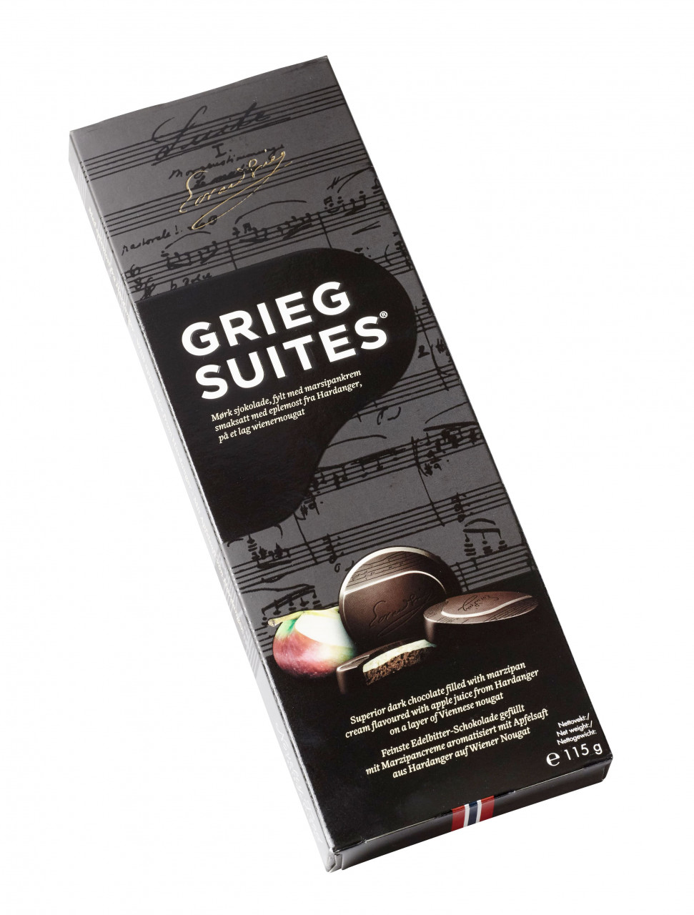 Grieg Suites - norwegische Schokoladetaler (115g)