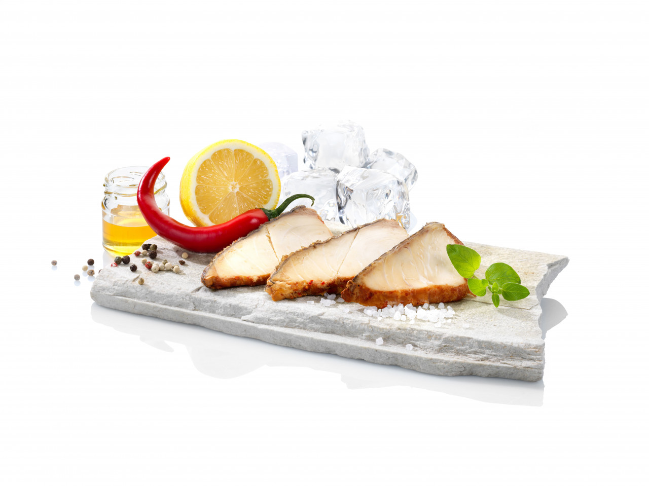 Deluxe Buttermakrele, in Honig/Chili-Beize (100g)