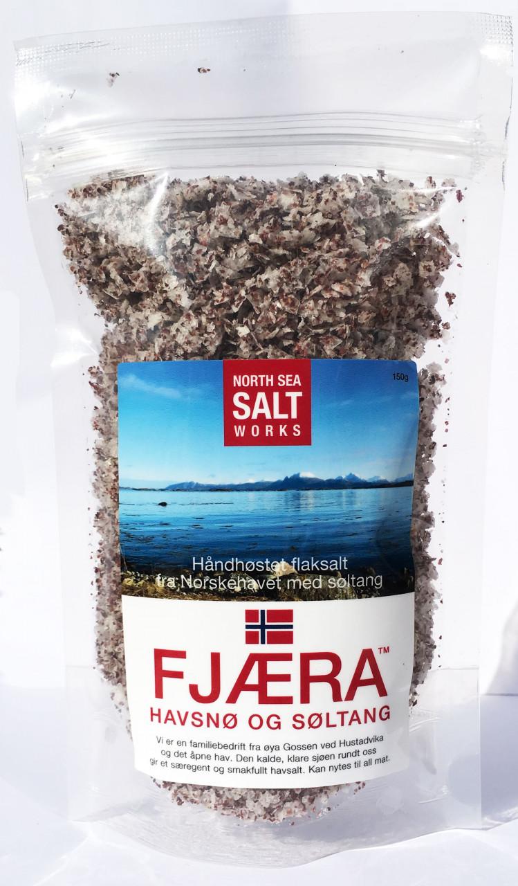 Fjæra Meersalzflocken mit Seetang (150 g)