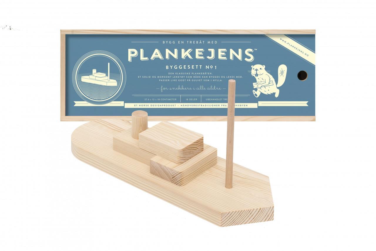 Holzbausatz - Boot