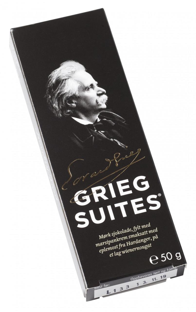 Grieg Suites - norwegische Schokoladetaler (50g)
