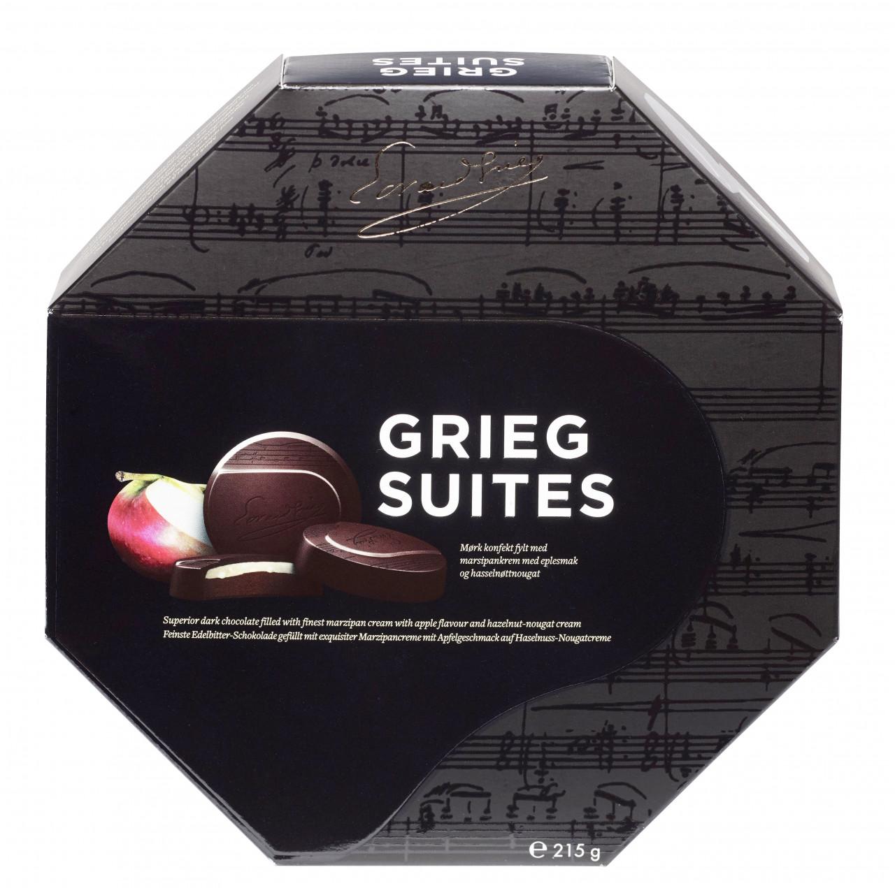 Grieg Suites - norwegische Schokoladetaler (215g)