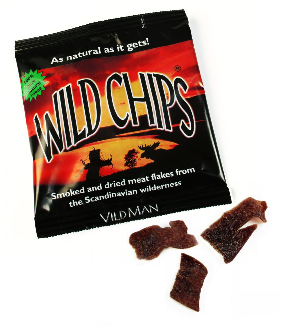 Wild Man Wild Chips (40g)