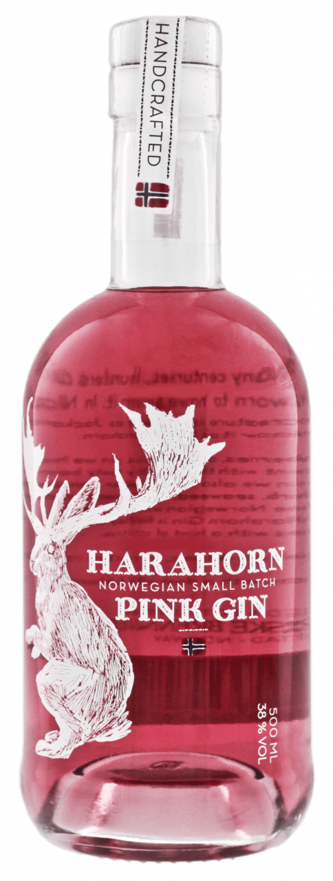 Harahorn Pink Gin (500 ml)