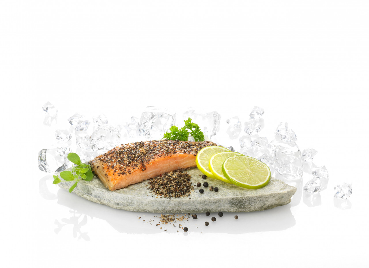 Deluxe Pepper-/Stremel-Lachs, (500g)