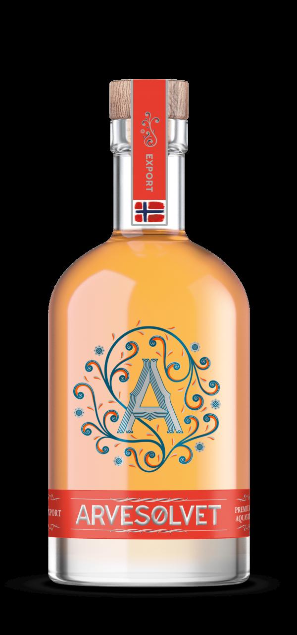 Arvesølvet Aquavit (1000 ml)
